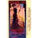 Art Nouveau Woman Paint Advert