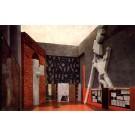 Statues Interior Futurism Display Italian