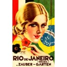 Travel Poster Germany Brazil