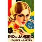 Travel Poster Germany Brazil