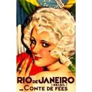 Travel Poster France Brazil