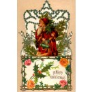 Santa Claus Tree Rose Novelty