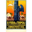 2nd Tripoli Exposition 1928 Italian