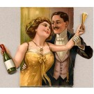 Champagne Lovers Novelty Mechanical