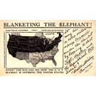 President Election Map Hidden Elephant 1904