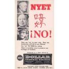 Anti-Communist Advert Dollar Savings OH