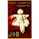 Advert Cigarettes JOB Cappiello French
