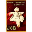 Advert Cigarettes JOB Cappiello French