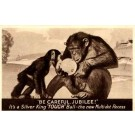 Monkeys Silver King Golf Ball Advert