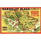 French Golf Course Advert