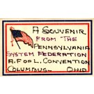 A.F.O.L. Convention U.S. Flag Ohio
