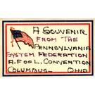 A.F.O.L. Convention U.S. Flag Ohio