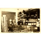 Store Postcards Pottery Silverware Real Photo IA