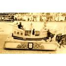 Horse-Drawn Boat Parade Real Photo