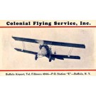 Colonial Airways System Biplane NY