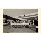 Nurses & Airplane Pan Am Real Photo