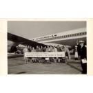 Nurses & Airplane Pan Am Real Photo
