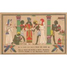 Advert Toothpaste & Ancient Egypt Royalty