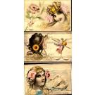 B. Patella Set of Six Woman & Nature