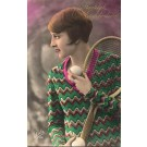 Woman Tennis Real Photo
