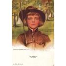 Art Nouveau Boileau Girl Scout