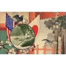 Japanese Arashiyama Doves Hawks Boat PPIExpo
