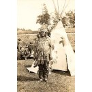 Indian Chief Real Photo