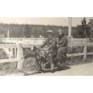 Motorcycle Germany Real Photo