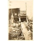 Gold Mining Yukon Real Photo
