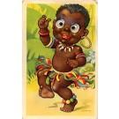 Black African Boy Bubble Eyes