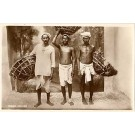 Indian Coolies Real Photo