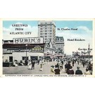 Postcard Store Atlantic City NJ