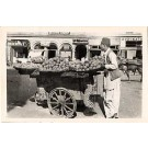 Vegetables Seller India Horse Real Photo