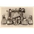 Erma Lechner Dolls Iowa Real Photo