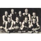 Basketball Team Real Photo
