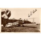 Pioneer Aviation Biplane Real Photo