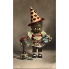 Black Doll Clown Hat Foreign RP