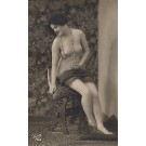 French Risque Nude Real Photo # 531