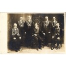 Masonic Men Real Photo Fraternal
