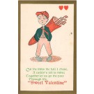 Golf Sweet Valentines Greeting