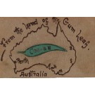 Greeting Novelty Australia Leather