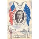 President Wilson WWI Patriotic