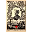German Kaiserina Red Cross Rose Flowers WWI
