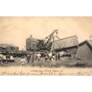 Train Wreck Lifting Crane Illinois