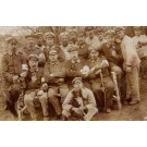Red Cross Orderlies WWI Real Photo