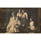Russian Emperor Nicholas I Family Real Photo
