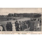 Harness Racers at Track Advert Furniture