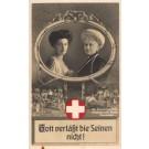 Kaiserina Princess Visiting Wounded WWI Real Photo