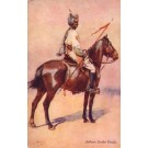 Indian Soldier on Horse