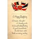 British Flags Coat of Arm Birthday Poem